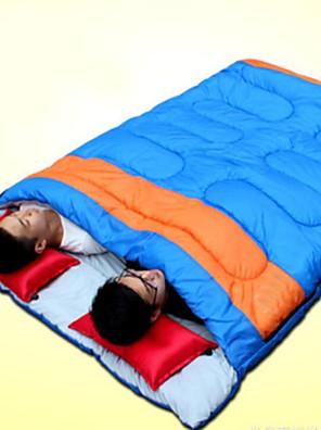 Спальный мешок Прямоугольный Двуспальный комплект (Ш 200 x Д 200 см) 10 Пористый хлопок 220X150