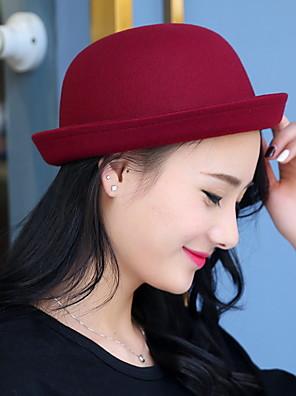 כובע פאדורה נשים חמוד / יום יומי,כותנה חורף / קיץ / כל העונות