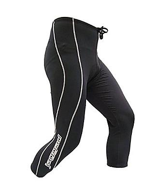 JAGGAD® Calças 3/4 Para Ciclismo Mulheres / Homens / Unissexo Moto Respirável / Secagem Rápida 3/4 calças justas / FundosNailom /