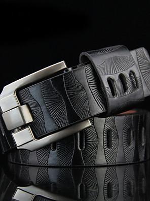 Masculino Cinto para a Cintura Vintage / Trabalho Liga Couro Sintético Masculino