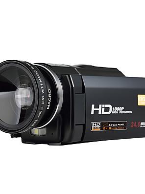 ordro® HDV-f5 s širokoúhlým objektivem 1080p digitální videokamery vnější podpory baterie funkce makro