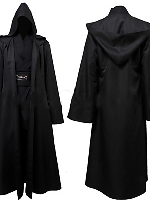 קיבל השראה מ קוספליי קוספליי אנימה תחפושות קוספליי חליפות קוספליי אחיד שחור שרוולים ארוכים גלימה / עליון / מכנסיים / מחוך / חגורה