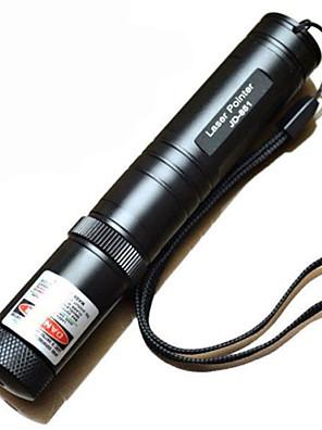 jd851 ponteiros laser feixe verde caneta (5mW, 532nm, preto)