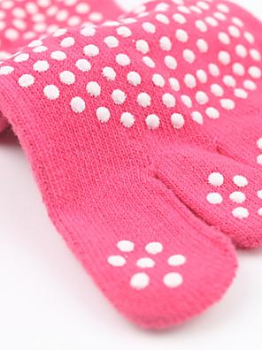 Dames Sokken/Fietssokken Yoga Anti-Slip / Zweetafvoerend Voorjaar / Herfst / Winter Licht Roze-Sportief-Gratis Grootte