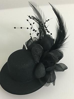 נשים נוצה / טול כיסוי ראש-חתונה / אירוע מיוחד קישוטי שיער חלק 1