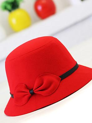 כובע דלי נשים וינטאג' / חמוד / מסיבה / עבודה / יום יומי,צמר / תערובת צמר חורף / קיץ
