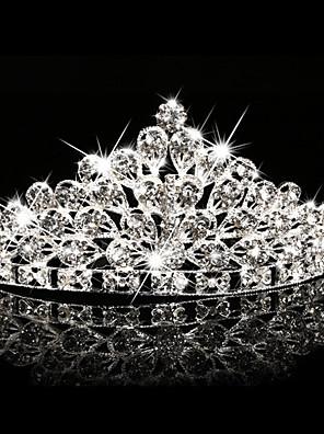 Donne / Bambina Strass / Cristalli Copricapo-Matrimonio / Occasioni speciali / All'aperto Tiare 1 pezzo