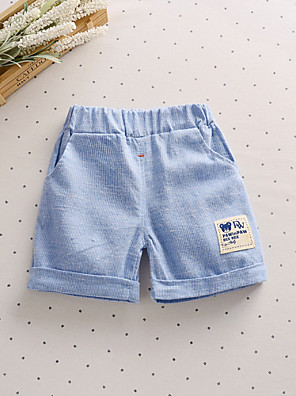 Boy's Casual/Daily Print Shorts,Cotton Summer Blue / Pink / White / Beige / Gray