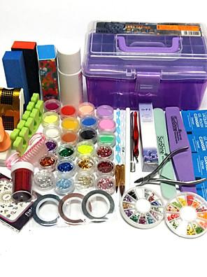 Nail Kit Nail Art Decoration Accessories søm DIY Neglelak Sæt
