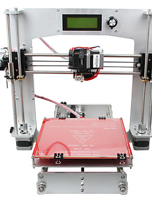 geeetech 3 d printer alle aluminium prua i3 TRUCTUUR 3 d printer kit 1.75mm filament / 0.3mm nozzle