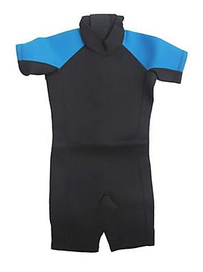 Outros Crianças Roupas de Mergulho Fato de Mergulho Compressão Roupas de mergulho 2,5-2,9 mm Rosa / Azul XXS / XS / S / M Mergulho
