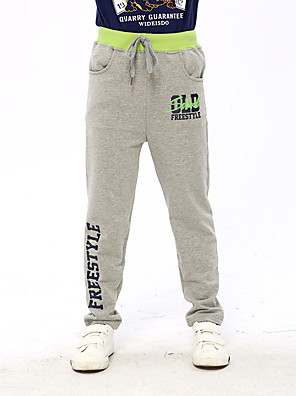 Boy's Cotton Spring/Autumn Fashion Fashion Children Spring Sports Pants Big Boys Version Trousers