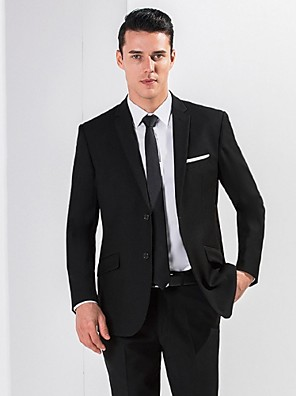 2017 obleky standardní fit zářez jednotlivé prsy dvě tlačítka viskózové pevné 2ks šikmo třepotal
