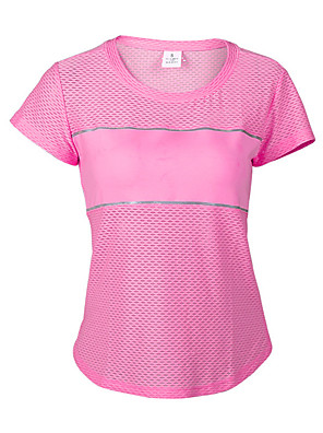 Mulheres Camiseta / Pulôver / BlusasIoga / Pilates / Acampar e Caminhar / Taekwondo / Pesca / Alpinismo / Exercicio e Fitness / Esportes