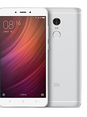 "Xiaomi Redmi Note 4 5.5 "" Android 6.0 Handy (Dual - SIM Deca Core 13 MP 2GB + 16 GB Silber / Gold)"