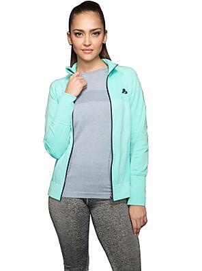 Esportivo®Ioga Camisa / Suit Compression / Jaqueta / Blusas Respirável / Secagem Rápida / Suave Stretchy Wear SportsIoga / Pilates /