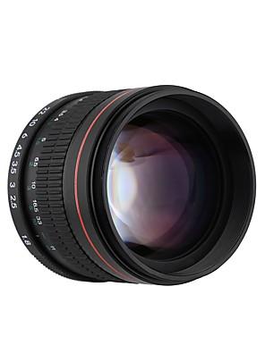 85mm f1.8-f22 manuális fókusz portré objektív kamera lencséje Canon EOS 550D 600D 700D 5d 7d 6d 60d DSLR fényképezőgépek