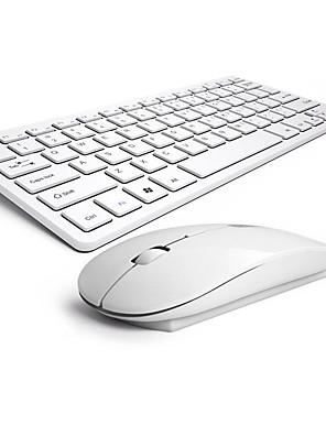 draadloos toetsenbord en muis kam stille geen licht chocolade muis en het toetsenbord b.o.w hw098 ergonomische