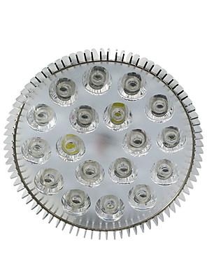 e27 18w 1080-1440lm (2white + 2orange + + 4blue 10red) LED Spot lâmpada planta crescer luz (85-265V)