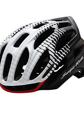 קסדה-יוניסקס-הר / ספורט-רכיבה על אופניים / רכיבה על אופני הרים / רכיבה בכביש / רכיבת פנאי(לבן / אדום / שחור / כחול / Others,PC / EPS)36