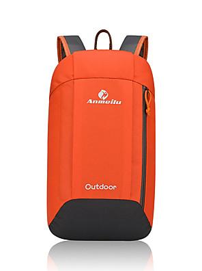 10 L תיקי גב לטיולי יום / תרמיל מחנאות וטיולים / כושר גופני / מירוץ / מדבקות בית ספר / ריצה טבע ייבוש מהיר / ניתן ללבישה צהוב / אדום