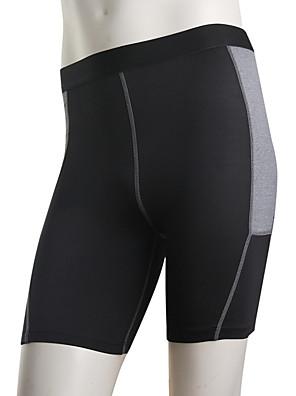 Běh Kalhoty / Legíny / Spodní část oděvu Pánské Antibakteriální / Pohodlné Polyester Taekwondo / Fitness / Dostihy / Volnočasové sporty