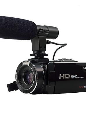 ordro® HDV-Z20 עם HD מלא 1080p מיקרופון חיצוני& רזולוציה wifi חיבור 8MP sony חיישן התמונה 24mp