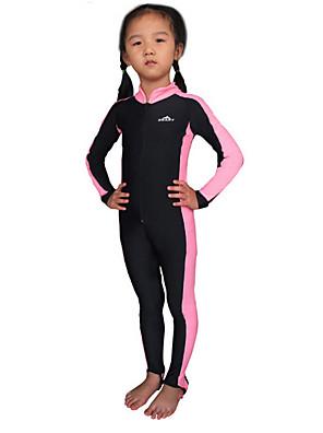 Ostatní Děti Potápěčské obleky / Ochrana proti vyrážce / Mokrý Diving Suit Odolný vůči UV záření Potápěčské Skins 3-3,4milimetryŽlutá /