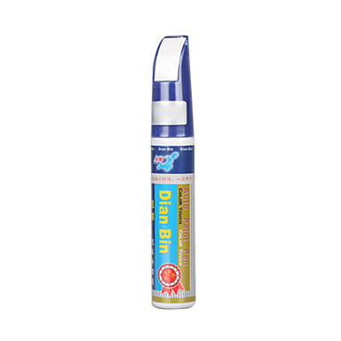 Voiture peinture stylo automobile rayures stoppage touch - Stylo retouche email blanc ...