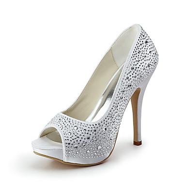 Zapato Mujer Tacon Con Brillo