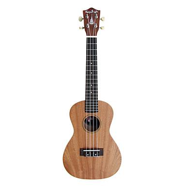 Hanknn 5230s ukulele concert sapelli avec housse for Housse ukulele concert