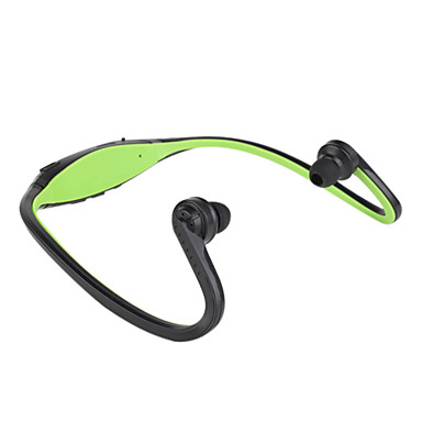 Wireless Sport MP3 Music Player Headphone Support TF + FM Radio