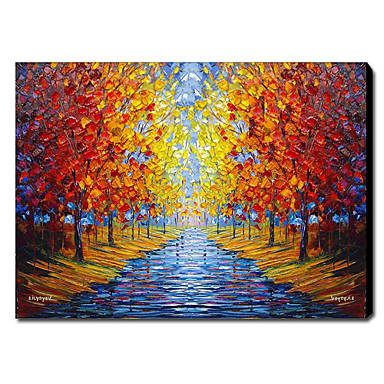 Hand Painted Oil Painting Landscape 1211-LS0071