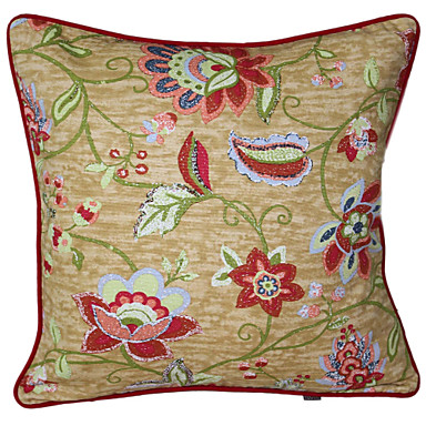 Round Decorative Pillow Set : Suzani 18