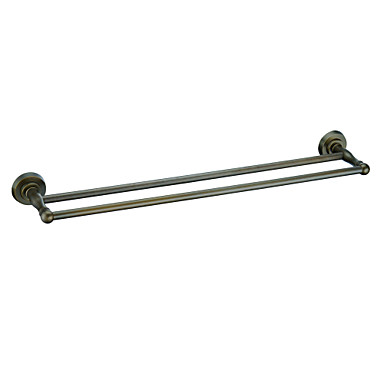 Buy Towel Bar Antique Brass Wall Mounted 630 x 150 77mm (24.8 5.90 3.03 inch)