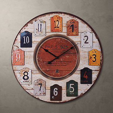 23 h country style wall clock 789716 2017 - Country style wall clocks ...