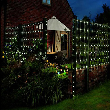 Exterior Solar String Lights : 200 Solar Powered Outdoor String Lights -Fairy Lights-Christmas String Light For Decoration ...