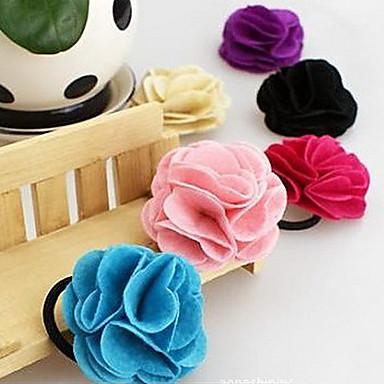 (1 Pc)Sweet Resin Hair Ties FOR Kid's(Random Color)