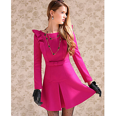 Vestido rosa pink de Marina Ruy Barbosa