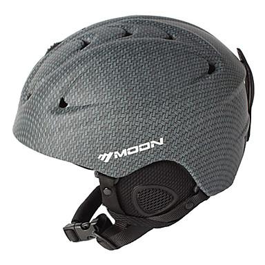 MOON Helmet Women's Men's Unisex Sports Helmet Snow Helmet CE PC EPS Snow Sports Winter Sports Ski Snowboarding