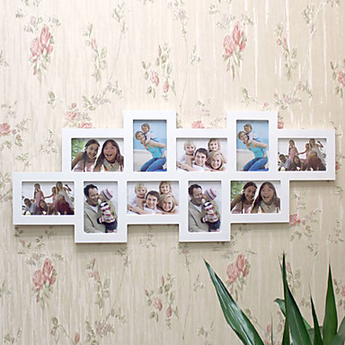 """14.5""""H Country Style Photo Wall Frame"""