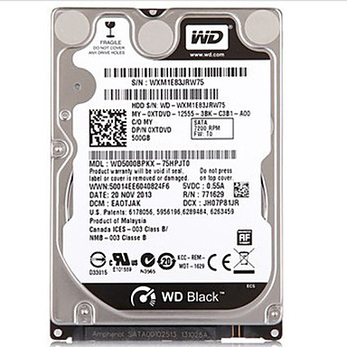 Buy Western Digital WD5000BPKX SATA3 500G 2.5-inch HDD Notebook Internal Hard Disk