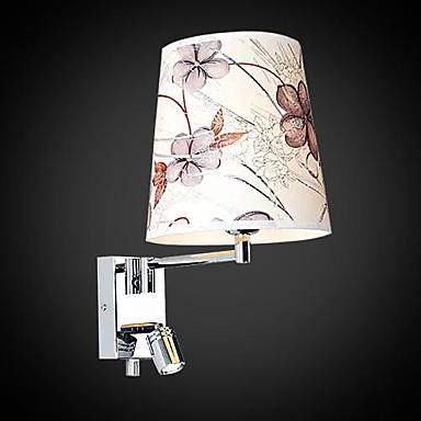Lampade da parete, 1 Luce, artistico Acciaio inossidabile Placcatura MS-86209...