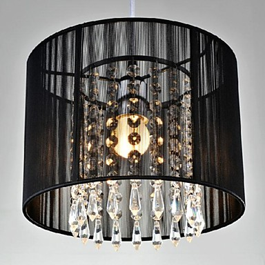 40w pendant light modern contemporary chrome feature for