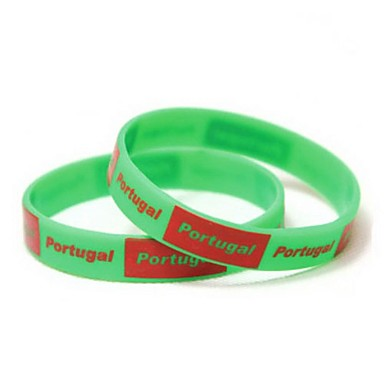 Buy Portugal Flag Pattern 2014 World Cup Silicone Wrist Band