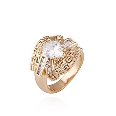 s fashion unique design 18k gold zircon ring 2122679