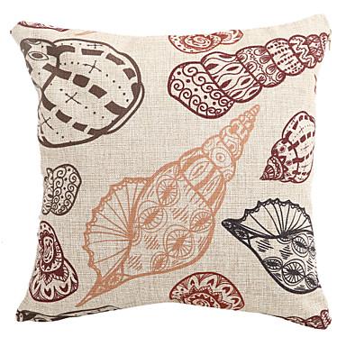 Coastal Decorative Pillow Covers : Cotton/Linen Pillow Cover / Pillow With Insert , Coastal Beach Style 1628354 2017 ? $8.24