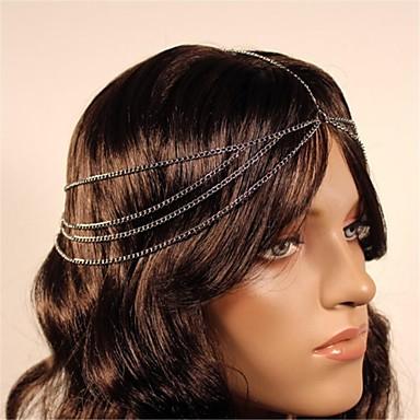 2014 New Black Chain Hairband for Women Hair Accessories
