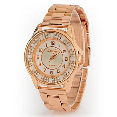 women s new rhinestone gold cool watches unique