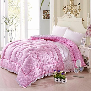 shuian comforter winter quilt keep warm thickening cotton lace quilts 1865640 2016. Black Bedroom Furniture Sets. Home Design Ideas
